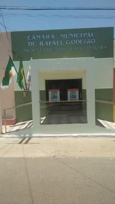 Bem vindo ao novo Portal da Câmara Municipal de Rafael Godeiro