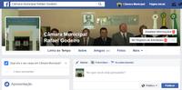 FACEBOOK: A Câmara também está nas redes sociais.
