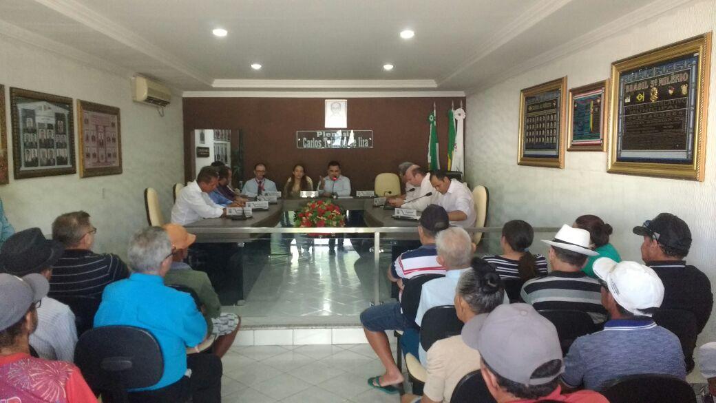 Audiência Publica para debater problemas enfrentados pelos beneficiados do INSS em sacar seus proventos.