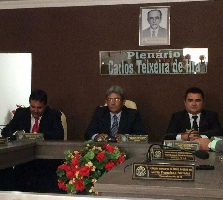 O novo presidente do Poder Legislativo, vereador João Filho (PSB)